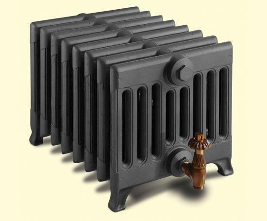 Cast Iron Radiators black
